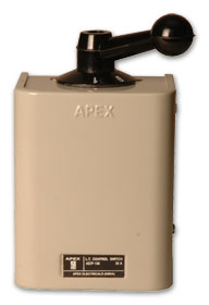 Apex L.T. Control Switches 32 Amps